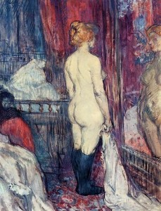 Nude before the Mirror, Henri de Toulouse-Lautrec